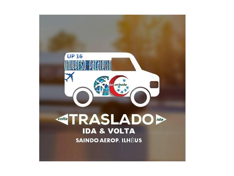 Imagem TRASLADO UP COM CONVITE - IDA E VOLTA - IDA ILHEÚS X VOLTA SALVADOR